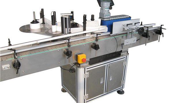 Fabricante automático de la máquina de etiquetado de la botella redonda de la etiqueta engomada