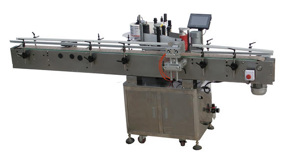 Fabricante automático de la máquina de etiquetado de posicionamiento de la botella