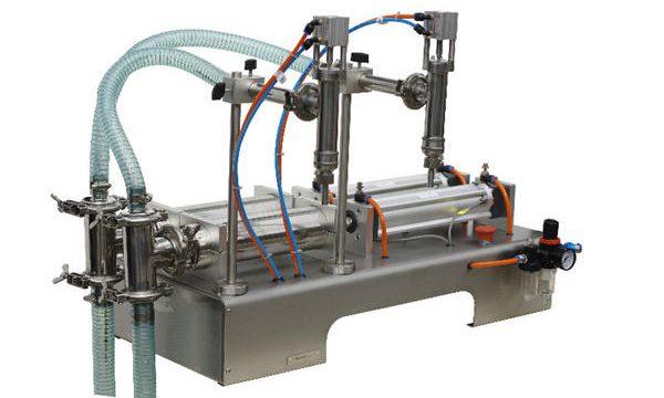 Máquina de llenado de miel semiautomática Alta precisión de llenado