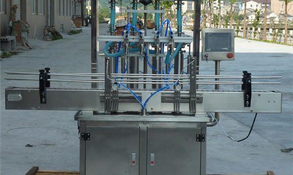 Máquina automática de llenado de pasta de maní