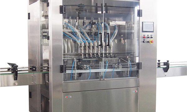 Máquina de llenado de líquidos para lavar platos