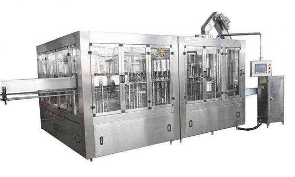 Línea de llenado automático de aceite de coco 8000BPH