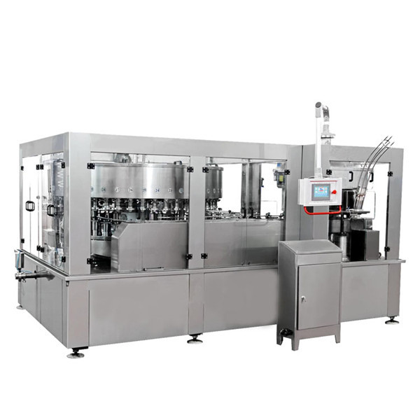 Máquina de llenado de latas de aluminio para refrescos de bebidas energéticas