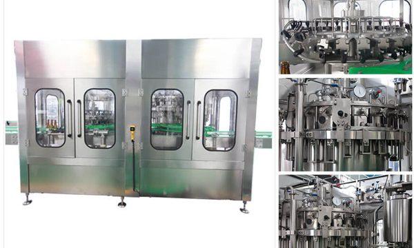 Máquina automática de llenado de botellas de vidrio de vino de vodka de cerveza