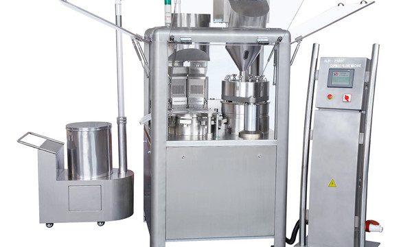 Máquina automática de llenado de cápsulas de llenado de cápsulas para llenar el polvo