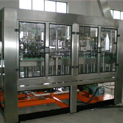 Llenadora automática de botellas de vidrio
