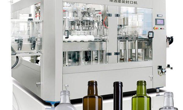 Máquina de llenado de latas de cerveza