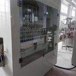 Máquina llenadora automática de blanqueador de acero inoxidable