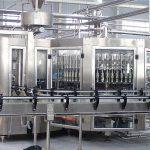 Máquina automática de llenado de botellas de vidrio de champú de 250 ml Equipo de tapado