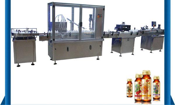 Máquina de rellenar líquida automática de la botella de miel del proveedor de China