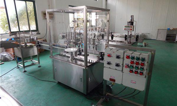 Máquina automática de llenado de líquidos de alta viscosidad