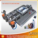 Máquina de llenado de líquido corrosivo antiespumante semiautomático