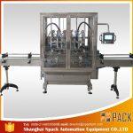 Máquina de llenado de líquido de botella de gravedad de desbordamiento automático