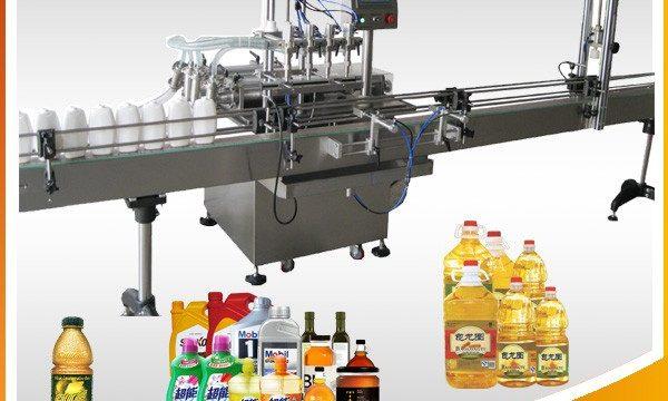 Máquina de llenado de aceite lubricante 1L-4L
