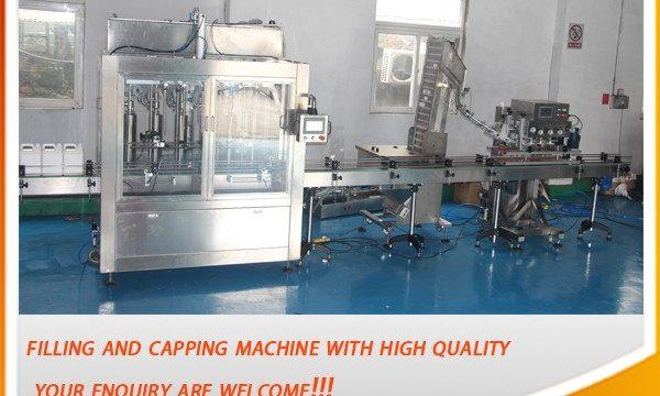 Máquina de llenado de aceite completamente automática de alta eficiencia de 5 litros