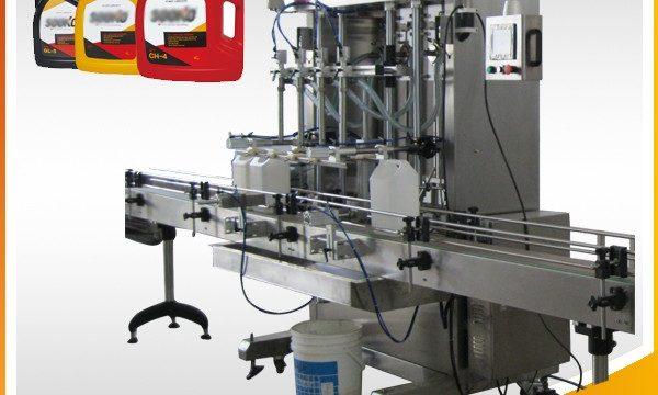 Máquina de rellenar del detergente líquido automático 500ml-2L / máquina de rellenar del líquido de lavado