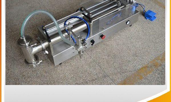 Máquina de llenado de pistón semiautomática Máquina de llenado de aceite ideal