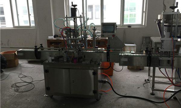 Máquina automática de llenado de líquidos de pistón 50ml a 1L