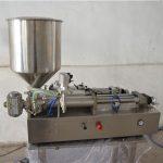 Máquina de llenado de aceite manual semiautomática cosmética