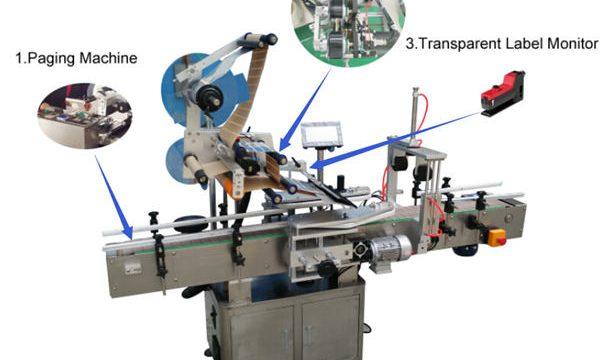 Máquina de etiquetado de ampollas de alta calidad y precio más bajo