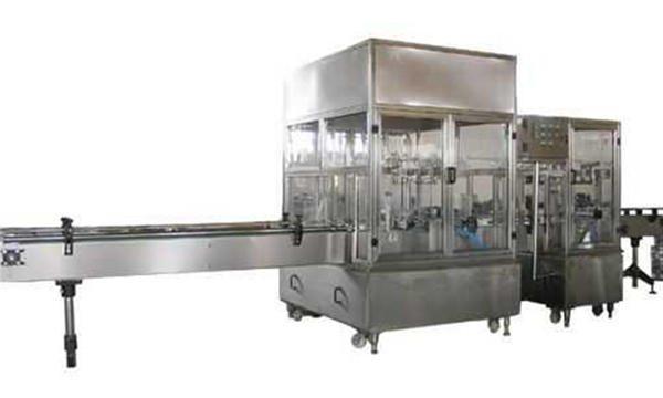 Línea de máquinas de llenado de jabón líquido completamente automática