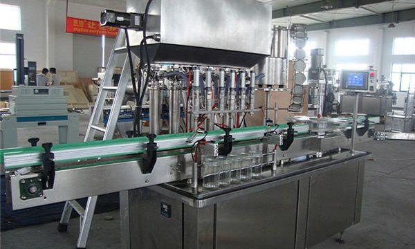 Máquina de llenado de salsa de tomate completamente automática