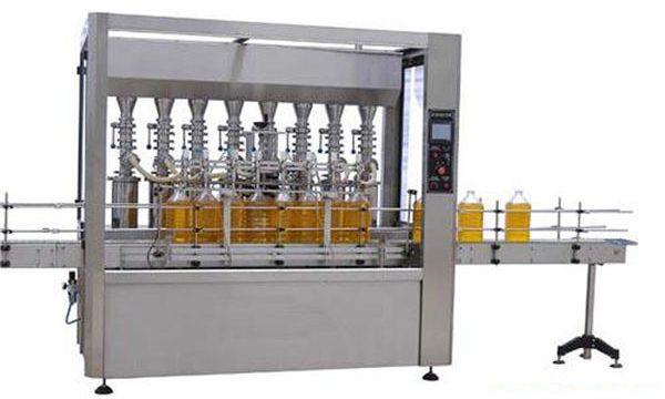 Máquina de llenado de aceite comestible / lubricante automático de alta precisión 2000ml-5000ml