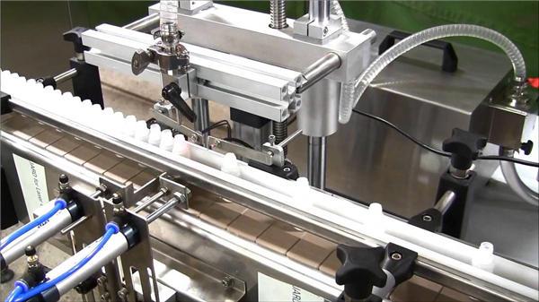 Máquina automática de llenado de botellas de e-líquido de alta velocidad