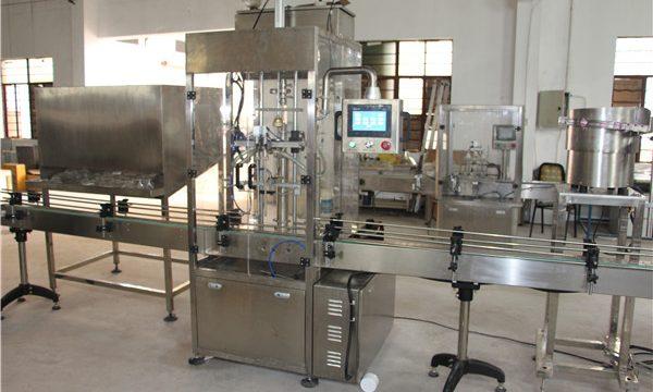 Máquina de llenado de champú de botella automática de alto volumen