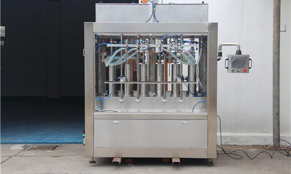 Máquina de llenado de salsa de tomate semiautomática neumática pura