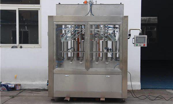 Máquina automática de llenado de botellas de mermelada