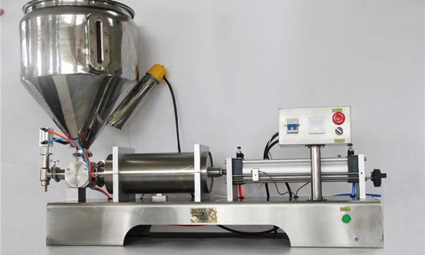 Máquina de llenado de mermelada de frutas mixta semiautomática de alta precisión con CE GMP