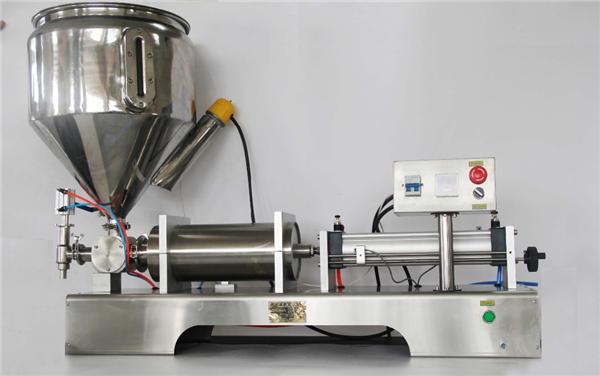 Máquina de llenado de mermelada de frutas semiautomática neumática pura