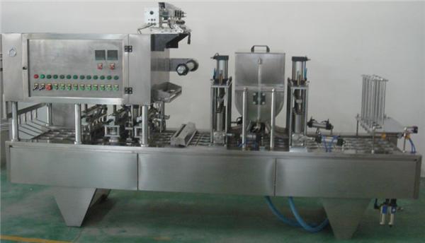 Máquina de llenado de mermelada rotativa completamente automática