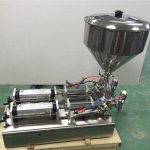 Máquina de llenado de mermelada de fresa de doble cabezal ampliamente utilizada