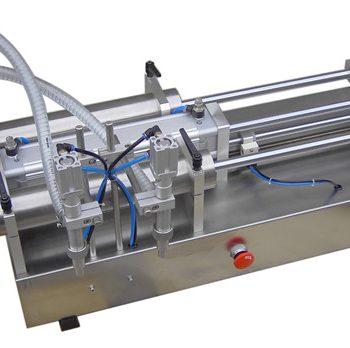 Máquina de llenado de líquido de pistón manual de bajo precio