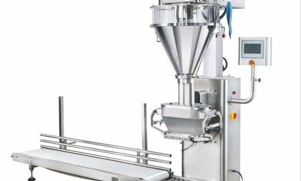 Máquina de llenado de polvo de leche semiautomática