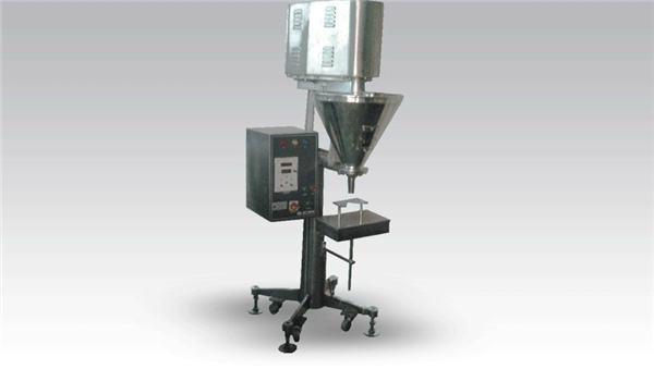 Máquina de llenado manual de dosis grandes en polvo
