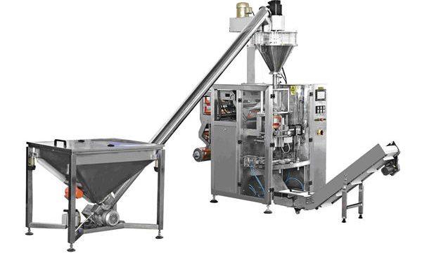 Máquina automática de llenado de polvo de alimentación en espiral tipo botella