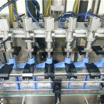 Máquina automática de llenado de aceite de motor de 6 cabezales
