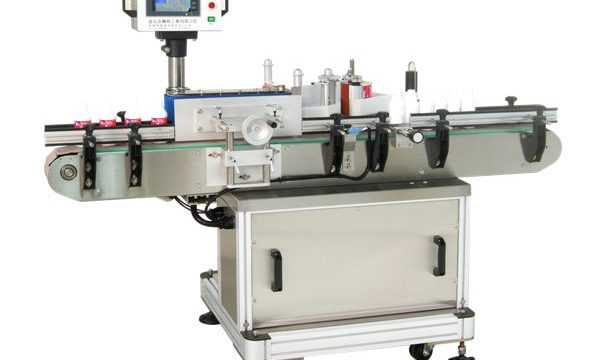 Fabricante automático de máquinas de etiquetado de tarros redondos