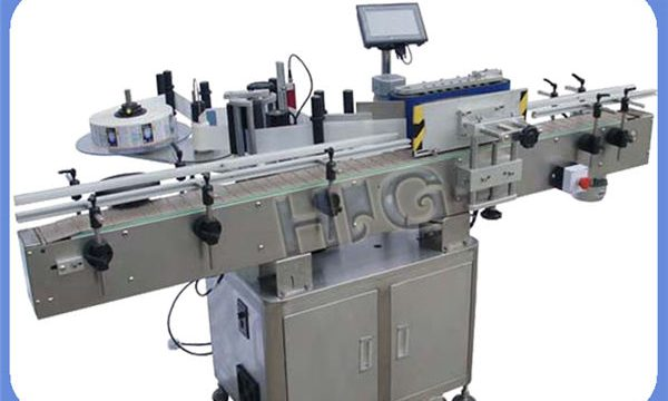 Fabricante automático de la máquina de etiquetado de la botella redonda de NPACK con la impresora