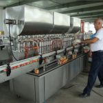 Máquina automática de llenado de salsa de soja 200-1000ml