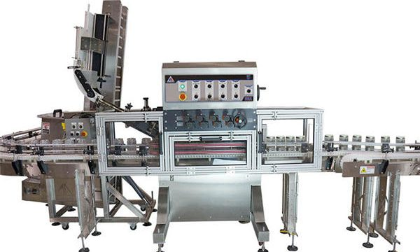 Máquina neumática de llenado de salsa caliente con bomba neumática