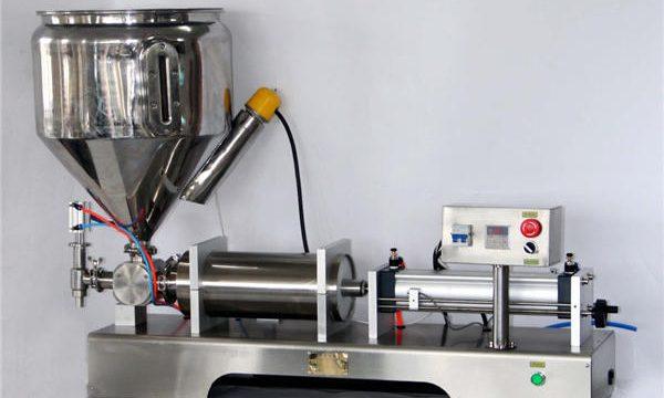 Máquina de llenado de salsa manual para latas