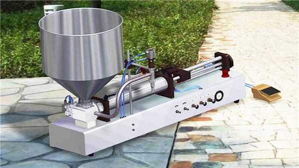 Máquina de llenado de líquido detergente semiautomática