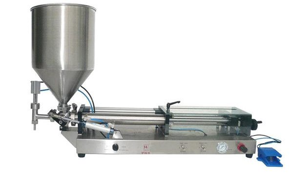 Máquina de llenado de salsa de tomate semiautomática