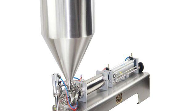 Máquina de llenado de pasta y líquido de 50-500 ml para champú en crema Pasta de dientes cosmética