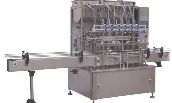 Máquina de llenado de pistón líquido de champú al por mayor completamente automática