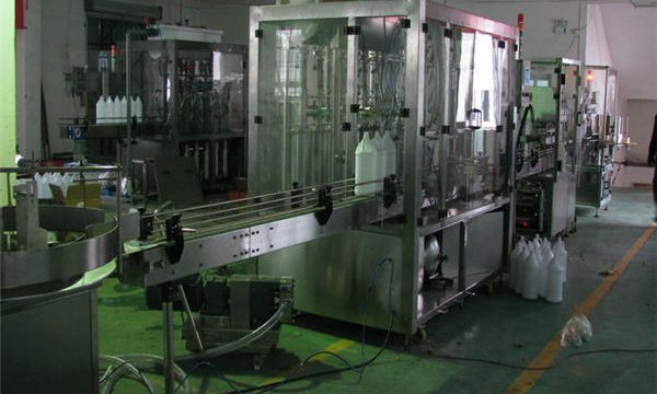 Llenadora de champú automática / Máquina de llenado de champú / Línea de llenado de champú